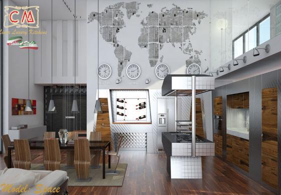 Le cucine in acciaio inox di qualità