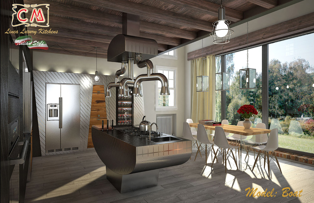 Mobili per cucina di lusso, fondamentali per una villa prestigiosa