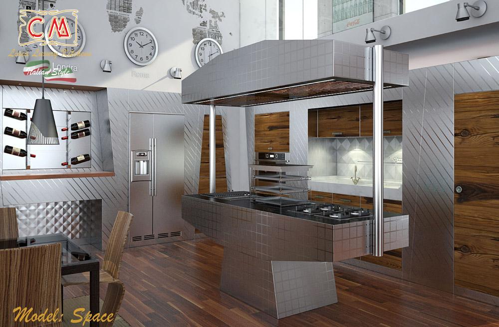 Cucine di lusso italiane di CM: dei veri gioielli.